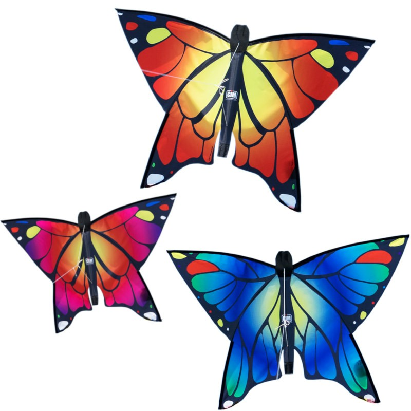 Cerf-volant monofil Colours in Motion Butterfly papillon