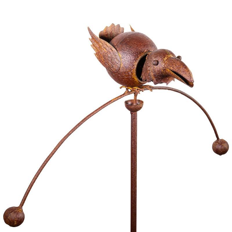 Balancier métallique Colours in Motion oiseau