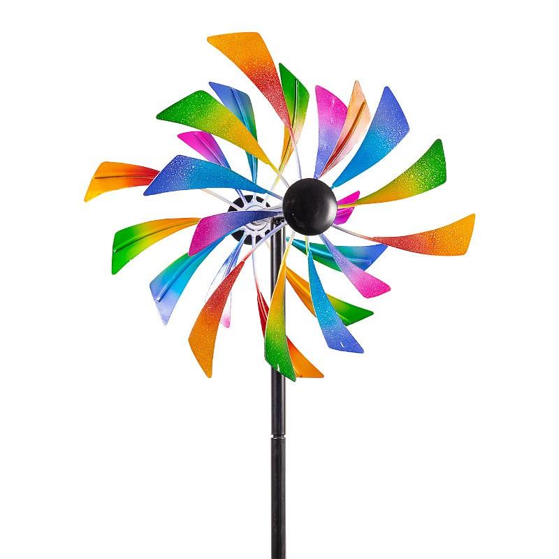 Moulin à vent métallique Colours in Motion Aero 30 cm