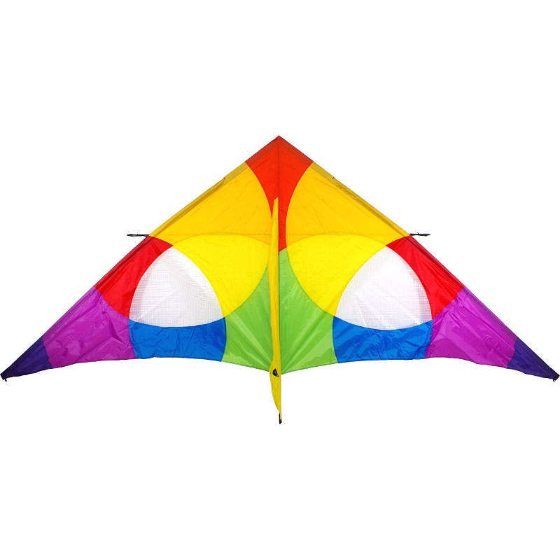 Cerf-volant monofil HQ Delta Rainbow 3 m