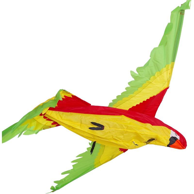 Cerf-volant monofil HQ Parrot 3D perroquet