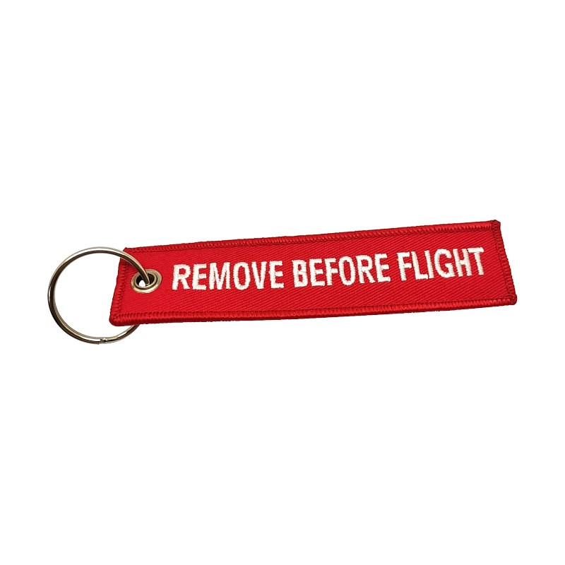 Porte-clés Remove Before Flight