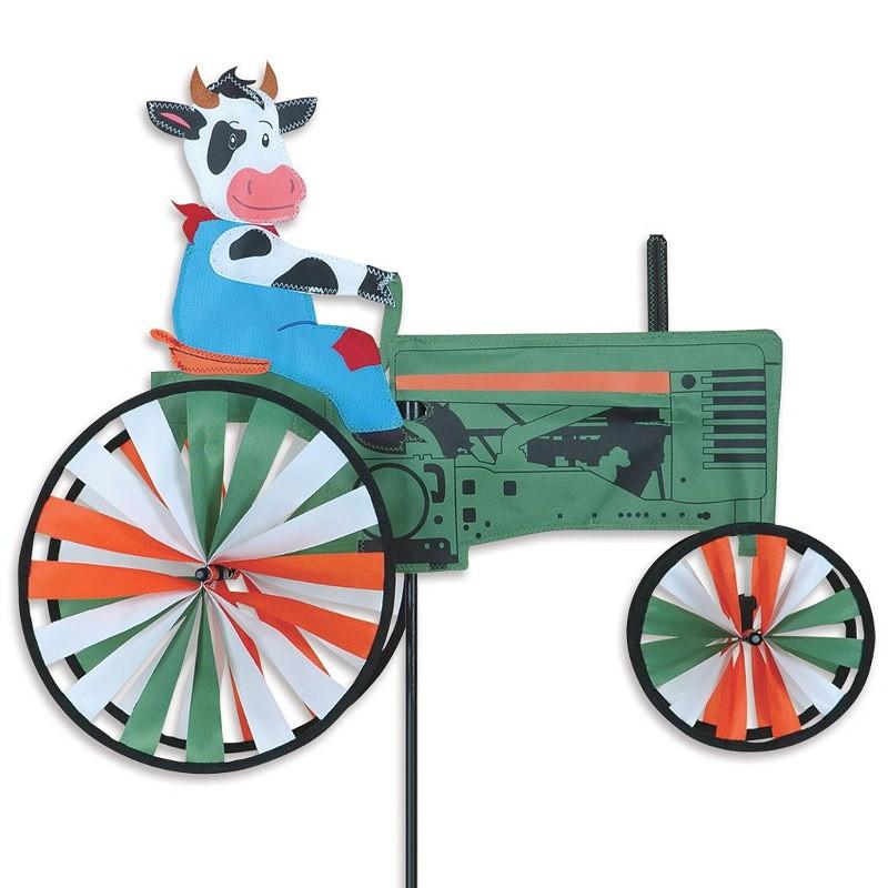 Tracteur éolien Premier Kites Cow on a Tractor 22