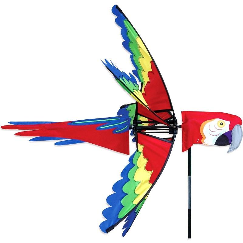 "Girouette Premier Kites Scarlet Macaw 27"" / 68 cm ara macao"