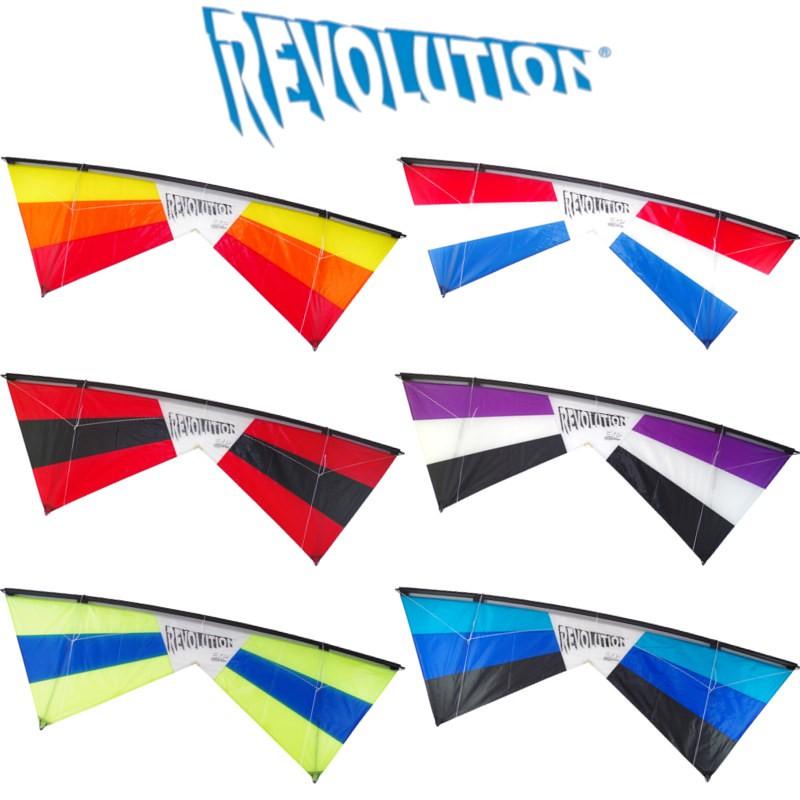 Cerf-volant 4 lignes Revolution EXP