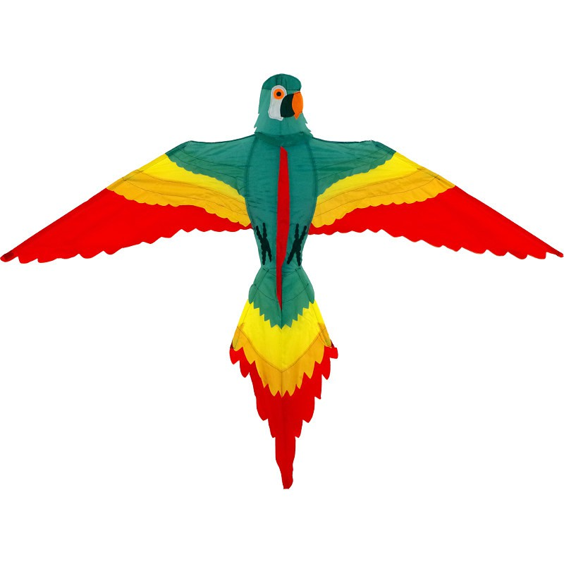 Cerf-volant monofil Wolkenstürmer Papagei perroquet