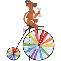 Cycliste Premier Kites High Wheel Bike Spinner Debonair Dog