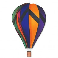 "Montgolfière Premier Kites Hot Air Balloon Rainbow 26"" / 66 cm"