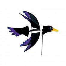 Girouette éolienne Colours in Motion 5-Wing Raven corbeau