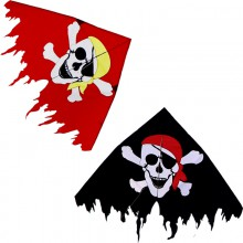 Cerf-volant monofil Colours in Motion Delta Jolly Roger