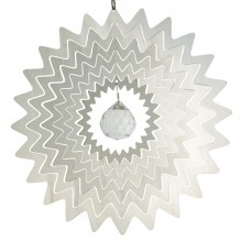 Mobile inox Colours in Motion Mirror Crystal Star