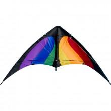 Cerf-volant pilotable Colours in Motion Nunchaku Rainbow