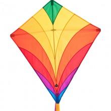 Cerf-volant monofil HQ Eddy Rainbow arc-en-ciel