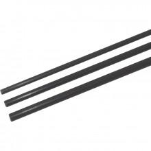 Tube fibre de verre standard 5 mm 200 cm noir