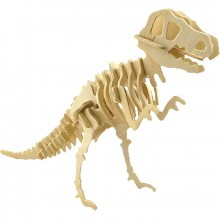 Maquette en bois tyrannosaure