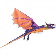 Cerf-volant monofil Premier Kites 3D Dragon Kite Sunset
