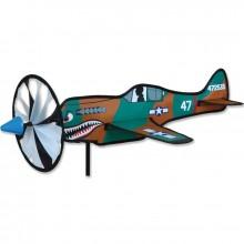 """Avion Premier Kites Airplane Spinner P-40 Warhawk 20"""" / 52 cm"""