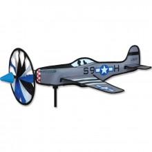"""Avion Premier Kites Airplane Spinner P-51 Mustang 20"""" / 52 cm"""