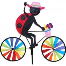 Cycliste Premier Kites Bike Spinner Ladybug 20 coccinelle
