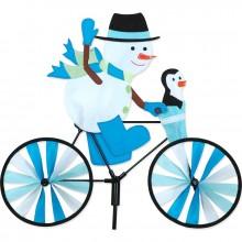 Cycliste Premier Kites Bike Spinner Snowman 20 bonhomme de neige