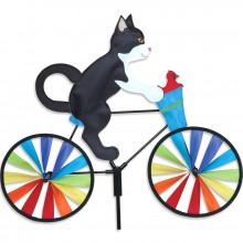 Cycliste Premier Kites Bike Spinner Tuxedo Cat 20 chat