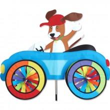 """Voiture éolienne Premier Kites Car Spinner Dog 25"""" / 63 cm chien"""