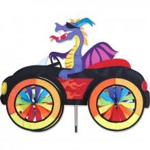 "Voiture éolienne Premier Kites Car Spinner Dragon 25"" / 63 cm"