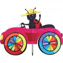 "Voiture éolienne Premier Kites Car Spinner Ladybug 25"" / 63 cm coccinelle"