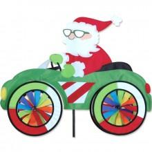 """Voiture éolienne Premier Kites Car Spinner Santa 25"""" / 63 cm Père Noël"""