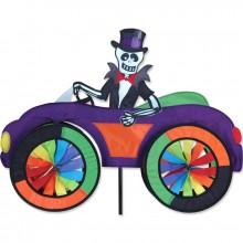 "Voiture éolienne Premier Kites Car Spinner Skeleton 25"" / 63 cm squelette"