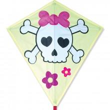 Cerf-volant monofil Premier Kites Diamond Girl Skull pirate