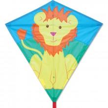 Cerf-volant monofil Premier Kites Diamond Lionel Lion