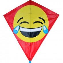 Cerf-volant monofil Premier Kites Diamond LOL Emoji