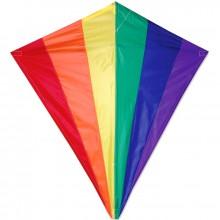 Cerf-volant monofil Premier Kites Diamond Rainbow arc-en-ciel