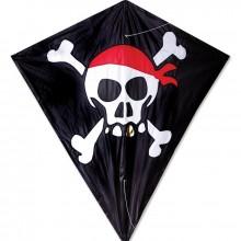 Cerf-volant monofil Premier Kites Diamond Skull & Crossbones pirate