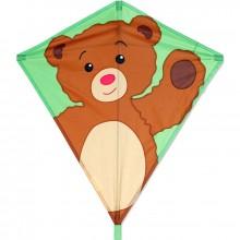 Cerf-volant monofil Premier Kites Diamond Teddy Bear ours