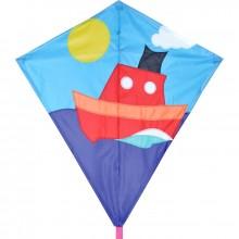 Cerf-volant monofil Premier Kites Diamond Tugboat bateau