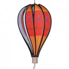 """Montgolfière Premier Kites Hot Air Balloon Red Vintage 18"""" / 45 cm"""
