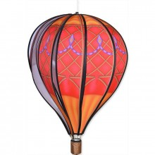 "Montgolfière Premier Kites Hot Air Balloon Red Vintage 22"" / 55 cm"