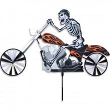 "Moto éolienne Premier Kites Motorcycle Spinner Chopper Skeleton 37"" / 94 cm"
