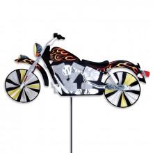 "Moto éolienne Premier Kites Motorcycle Spinner Flame 47"" / 119 cm"