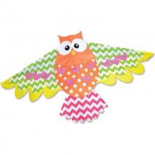Cerf-volant monofil Premier Kites Rainbow Owl hibou
