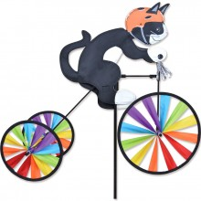 Cycliste Premier Kites Tricycle Spinner Tuxedo Cat 19 chat