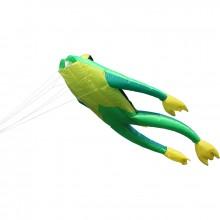 Cerf-volant monofil 3D Wolkenstürmer Fritz the Frog grenouille 480 cm Big Fritz