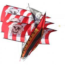 Cerf-volant monofil 3D XKites bateau pirate