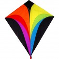 Cerf-volant monofil Colours in Motion Eddy XL Rainbow arc-en-ciel