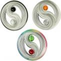Mobile Colours in Motion Yin-Yang inox