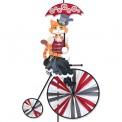 Cycliste Premier Kites High Wheel Bike Spinner Steampunk Kitty
