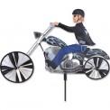 "Moto éolienne Premier Kites Motorcycle Spinner Chopper 25"" / 64 cm"