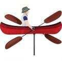 Moulin à vent Premier Kites Whirligig Canoe 20 canoë 50 cm